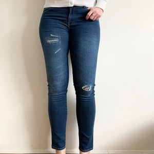 Wrangler Corynn Skinny Distressed Jeans